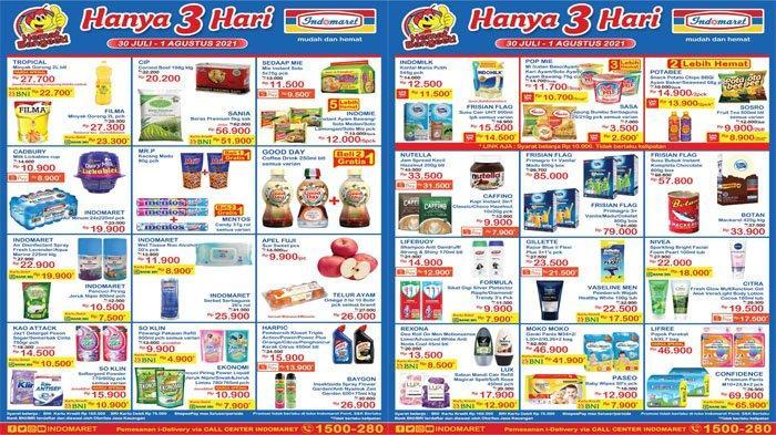 KATALOG PROMO JSM INDOMARET 30 Juli - 1 Agustus 2021, Harga Spesial Minyak Goreng hingga Susu Murah