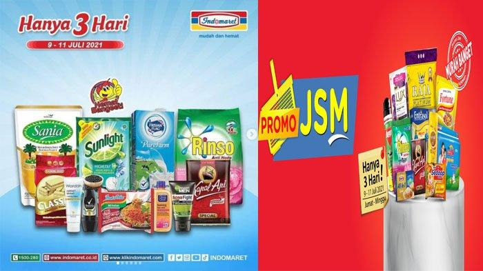 Promo JSM Indomaret 9 -11 Juli 2021 dan Promo JSM Alfamart 9 - 11 Juli 2021 Buruan Banyak Diskon!