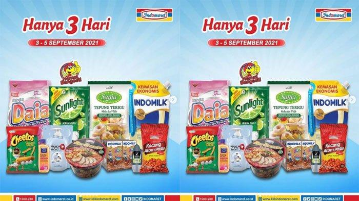 PROMO JSM INDOMARET Hari Ini 5 September 2021, Sabun Deterjen Margarine Snack hingga Tepung Terigu