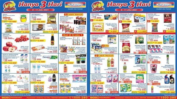 Katalog Promo JSM Indomaret Hari Ini 9 - 11 Juli 2021, Minyak Goreng Beras hingga Susu Murah