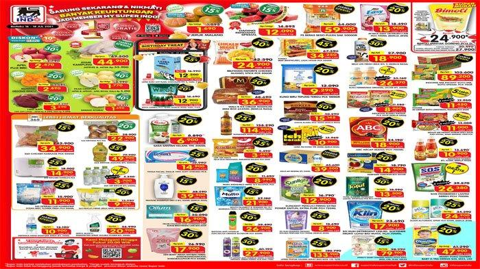PROMO JSM SUPERINDO 16 - 18 Juli 2021, Minyak Goreng Super Mudah hingga Harga Spesial Ayam Kampung