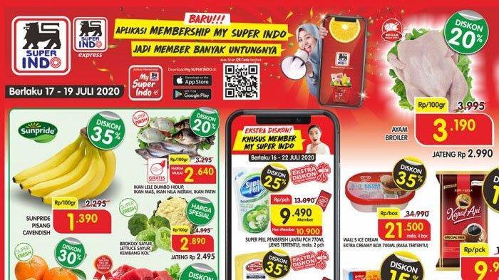 Promo Jsm Superindo Weekend 17 19 Juli 2020 Minyak Goreng Hingga Shampoo Diskon Cek Promo Lain Tribun Pontianak
