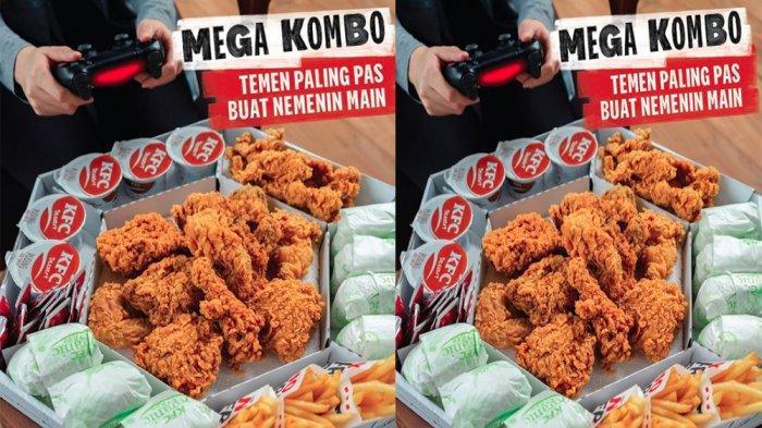 PROMO KFC Akhir Pekan Hari Ini Minggu 23 Mei 2021, Nikmati Paket Lengkap Mega Kombo Hemat Banget
