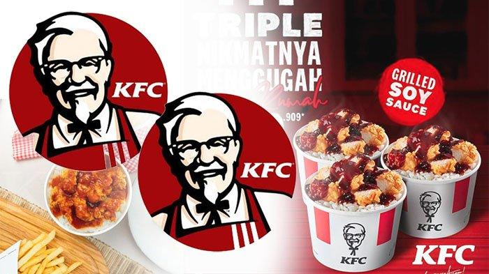PROMO KFC April 2021 Terbaru, Yuk Nikmati Menu KFC Harga Diskon Cuma Rp 40 Ribuan di KFC Terdekat