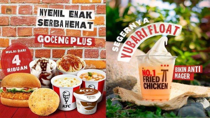 PROMO KFC Hari Ini 11 Oktober 2021, Nikmati Segarnya Yubari Float & Menu Goceng Plus Mulai 4 Ribuan