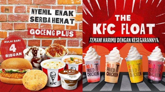 PROMO KFC Hari Ini 13 Oktober 2021, Nikmati Cemilan Goceng Plus Banyak Pilihan Cuma Mulai 4 Ribuan