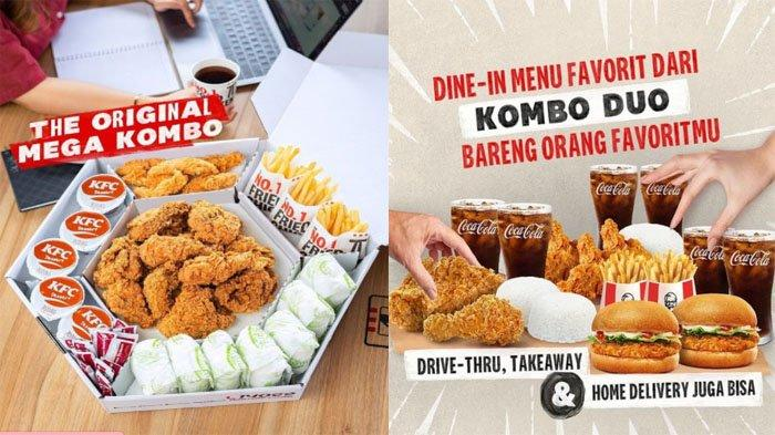 PROMO KFC Hari Ini 17 September 2021, Makan Bareng dengan Mega Kombo hingga Kombo Duo Hemat Banget