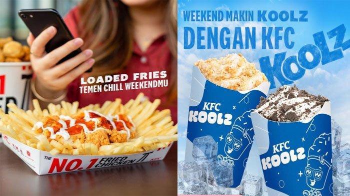 PROMO KFC Hari Ini 21 September 2021, Nikmati Menu Loaded Fries hingga KFC Koolz Mulai 13 Ribuan