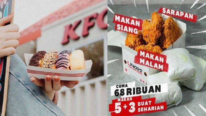 PROMO KFC Hari Ini 27 Juli 2021, Pukis KFC Beragam Varian Rasa hingga Promo 5 + 3 Hemat Banget