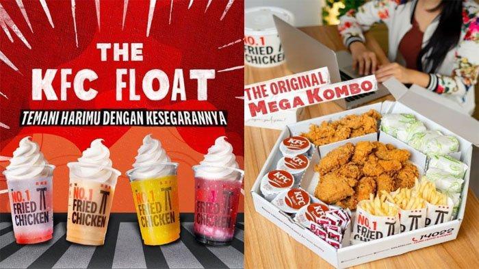 PROMO KFC Hari Ini 5 Oktober 2021, Nikmati Paket Mega Kombo & Segarnya KFC Float dengan Pilihan Rasa