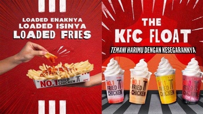 PROMO KFC Hari Ini 6 Oktober 2021, Segarnya KFC Float hingga Cemilan Loaded Fries Mulai Rp 38 Ribuan