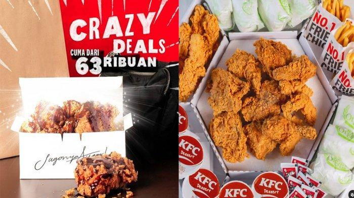 PROMO KFC Hari Ini 7 Juni 2021, Crazy Deals Grilled Soy Sauce Ayam Goreng Favorit Mulai 63 Ribuan