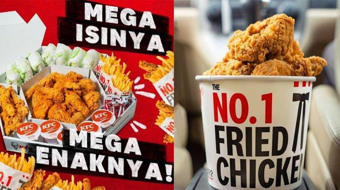 UPDATE PROMO KFC Hari Ini 9 Juli 2021, Sambut Weekend dengan Mega Kombo bareng keluarga Harga Hemat
