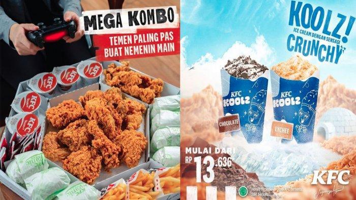 PROMO KFC Terbaru 1 Juni 2021, Menu Favorit Mega Kombo hingga KFC Koolz Mulai Rp 13 Ribuan