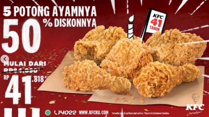 Promo Kfc Terbaru 19 Oktober 2020 Nikmati 5 Potong Ayam Goreng Diskon 50 Persen Buruan Cuma 3 Hari Halaman All Tribun Pontianak