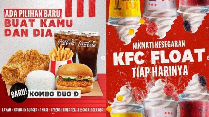 PROMO KFC Terbaru Hari Ini 14 September 2021, Pilihan Baru Kombo Duo & Segarnya KFC Float 12 Ribuan