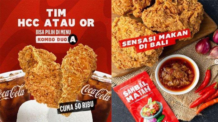 PROMO KFC Terbaru Hari Ini 15 September 2021, Nikmati Makan Hemat Kombo Duo dengan Sambal Nusantara