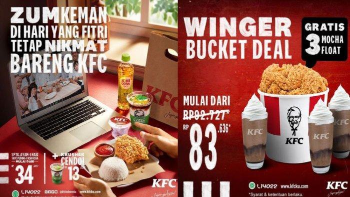 PROMO KFC Terbaru Hari Ini 17 - 31 Mei 2021, Promo Winger Bucket Deal Rp 83.636 Gratis 3 Mocha Float