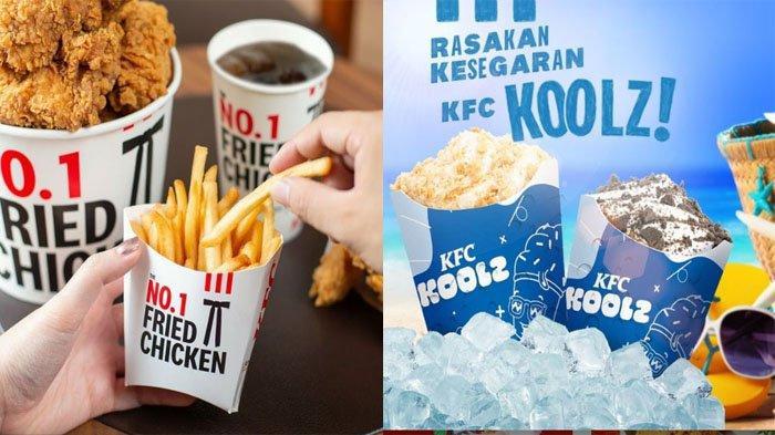PROMO KFC Terbaru Hari Ini 30 Juli 2021, Nikmati Segarnya KFC Koolz Rp 13.636 dan Promo 5 + 3 Hemat