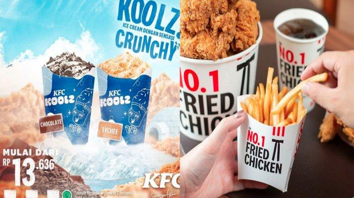 PROMO KFC Hari Ini 31 Mei 2021, KFC Koolz Menyegarkan Mulai Rp 13.636 & Personal Snack Bucket