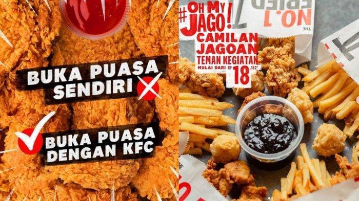 PROMO KFC Terbaru Hari Ini 5 Mei 2021, Paket Camilan Oh My Jago mulai Rp 18 Ribuan di KFC Terdekat