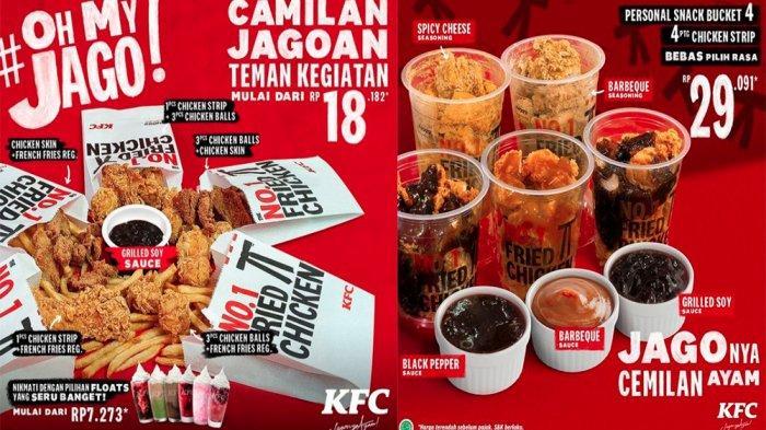 PROMO KFC Terbaru Hari Ini 6 April 2021, Nikmatnya Paket Oh My Jago Mulai dari Rp 18 Ribuan Saja