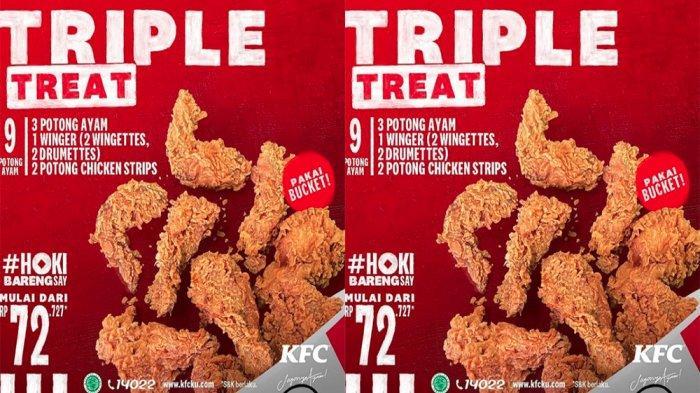 PROMO KFC Hari Ini 7 Februari 2021, Menu KFC 9 Potong Ayam Cuma Rp 72 Ribuan di KFC Terdekat
