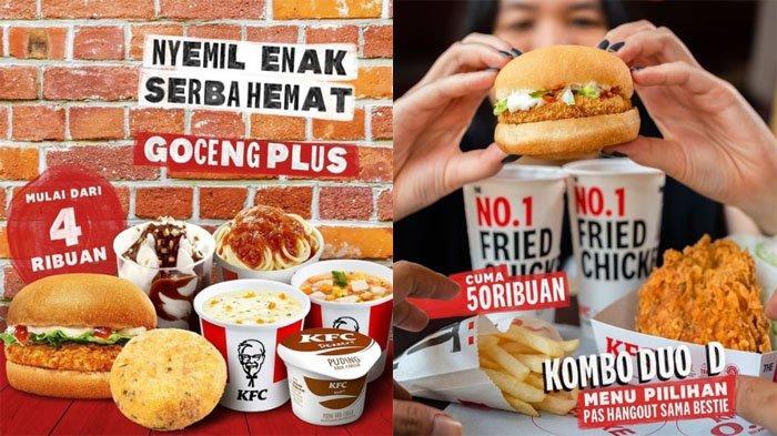 PROMO KFC Terbaru Hari Ini 7 Oktober 2021, Nyemil Enak Serba Hemat Goceng Plus Mulai 4 Ribuan