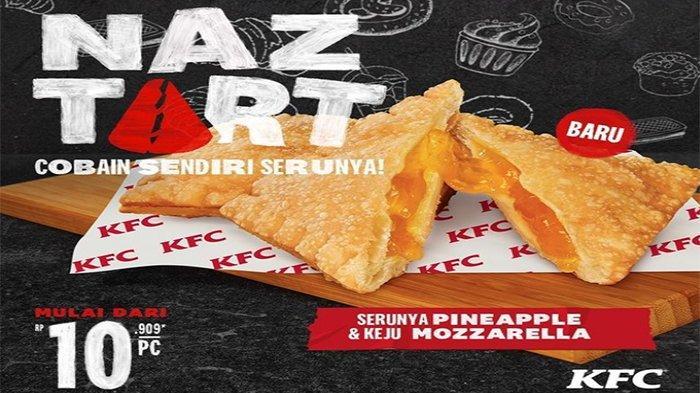PROMO KFC Terbaru Hari Ini Hanya Rp 10.909 Bisa Nikmati Naztart, Cobain Sendiri Serunya!
