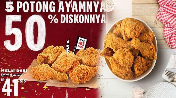 Promo Kfc Terbaru Oktober 2020 5 Potong Ayam Cuma Setengah Harga Berlaku Sampai Besok Tribun Pontianak