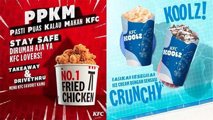 PROMO KFC Terbaru Weekend 4 Juli 2021, Nikmati Segarnya KFC Koolz & Pedasnya Sambal Nusantara