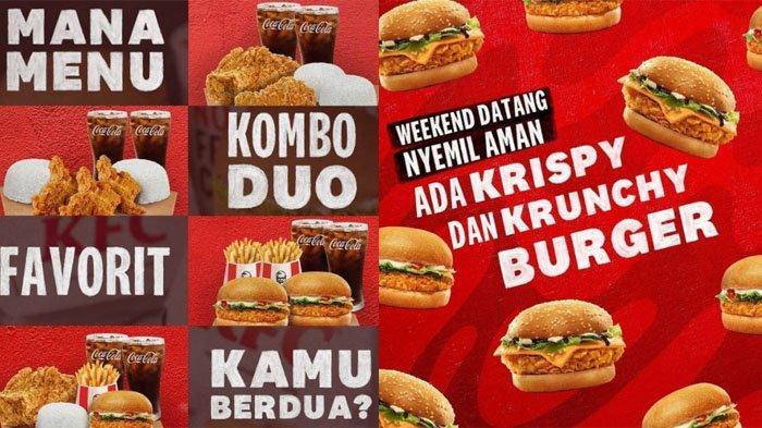 PROMO KFC Weekend Hari Ini 26 September 2021, Makan Hemat Kombo Duo hingga Krispy & Krunchy Burger