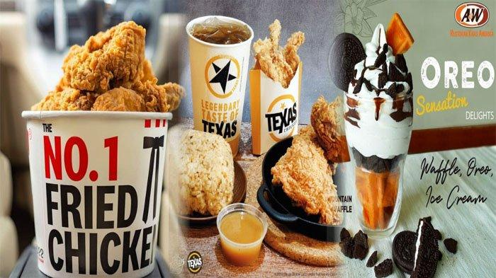 PROMO MAKANAN 15 Juli 2021, Ada Menu McDonalds KFC Dunkin Donuts Breadtalk Texas Chicken A&W Chatime
