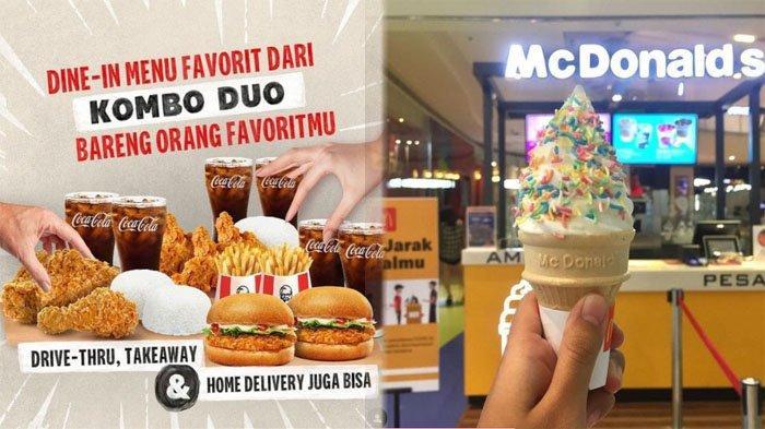 PROMO Makanan dan Minuman Hari Ini 11 Oktober 2021, Menu McD KFC Pizza Hut Dunkin Donuts Chatime A&W