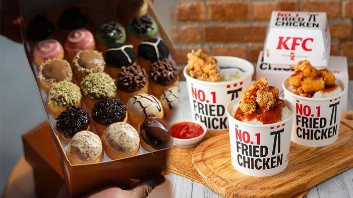 PROMO Makanan Februari 2021 , Promo KFC Spesial Imlek Jco HokBen Dunkin Donuts Hingga BreadTalk