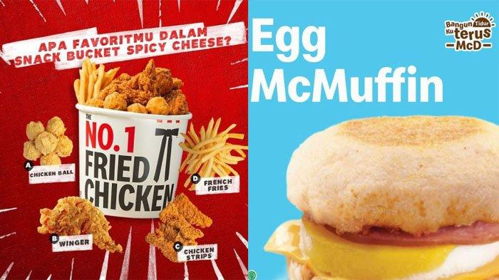 PROMO Makanan Hari Ini 13 Juli 2021, Menu BreadTalk McD KFC Chatime Texas Chicken Dunkin Donuts A&W