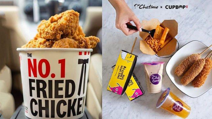 PROMO MAKANAN Hari Ini 13 Oktober 2021, A&W KFC McD Pizza Hut Dunkin Donuts Texas Chicken Chatime