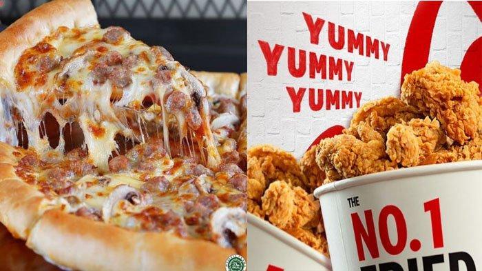 PROMO MAKANAN Hari Ini 14 Oktober 2021, Menu McD KFC Pizza Hut Dunkin Donuts BreadTalk Chatime A&W