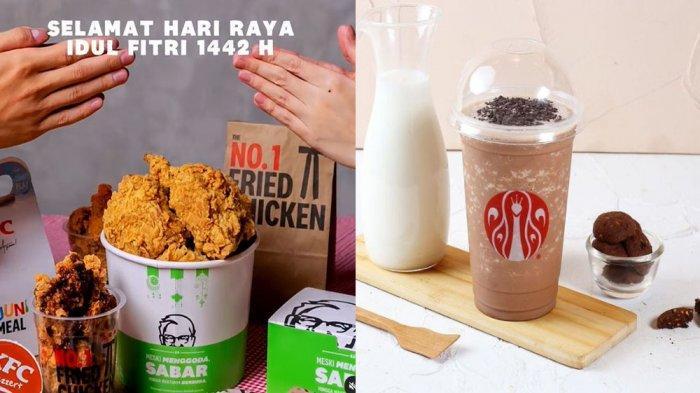 PROMO MAKANAN Hari Ini 16 Mei 2021, Nikmati Promo Menu KFC JCO Pizza Hut Dunkin Donuts & BreadTalk