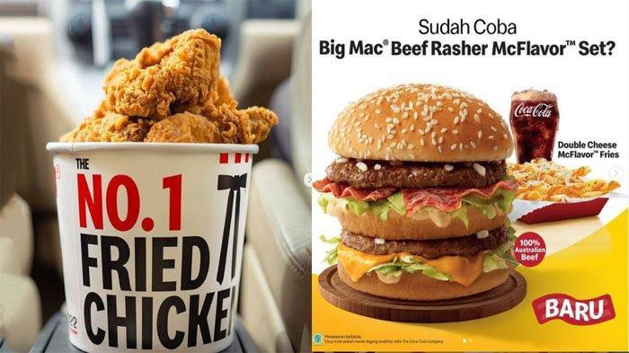 PROMO MAKANAN Hari Ini 16 September 2021, Nikmati McD KFC Dunkin Donuts Texas Chicken Chatime A&W
