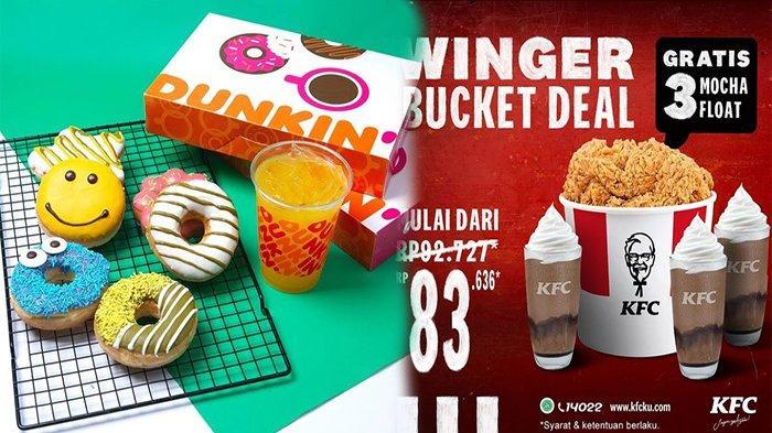 PROMO Makanan Hari Ini 17 Mei 2021, Promo Jco KFC BreadTalk Hokben & Dunkin Donuts