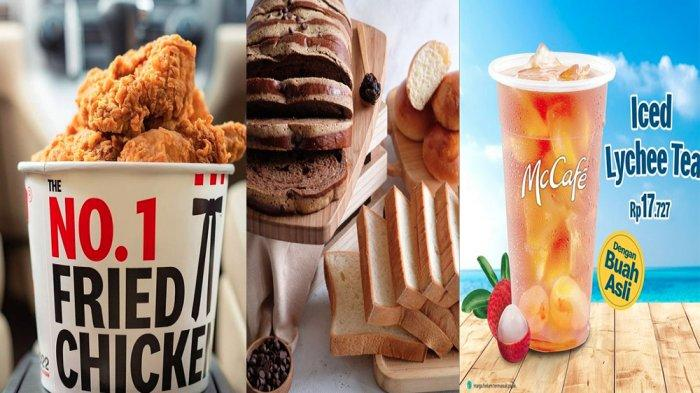 PROMO MAKANAN Hari Ini 28 Mei 2021, Diskon Menu JCO KFC Pizza Hut Delivery BreadTalk & McD