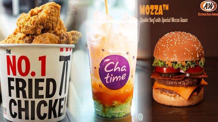 PROMO MAKANAN Hari Ini 6 Juli 2021, Ada McD KFC BreadTalk Chatime Texas Chicken Dunkin Donuts A&W