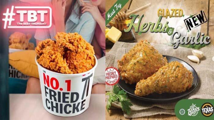 PROMO MAKANAN Hari Ini 8 Juli 2021, Dapatkan Promo McD KFC Texas Chicken BreadTalk Chatime dan A&W