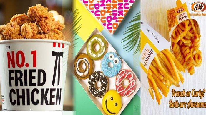PROMO MAKANAN Hari Ini 9 September 2021, Nikmati McD Texas Chicken KFC Dunkin Donuts BreadTalk A&W