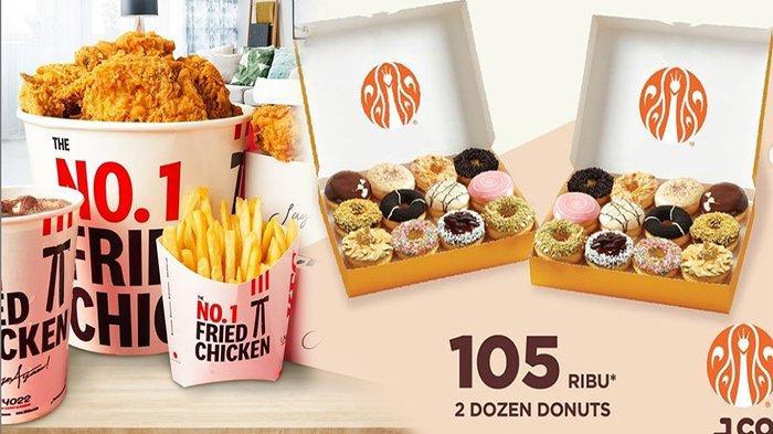 PROMO Makanan Hari Ini Jumat 2 April 2021, Promo KFC Jco HokBen & Richeese Factory