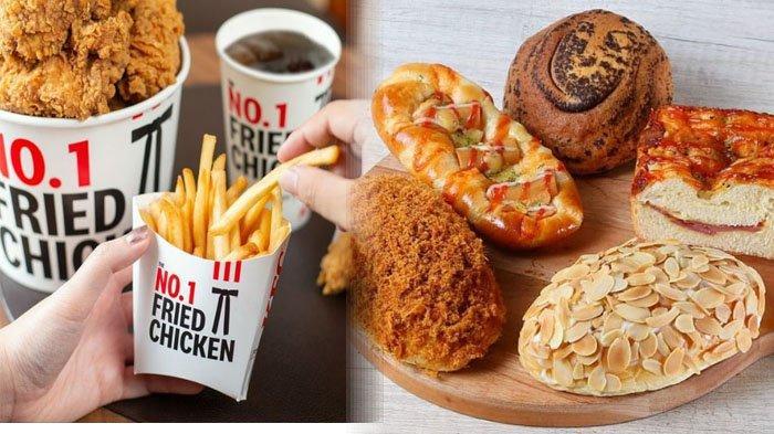 PROMO MAKANAN Hari Ini Jumat 23 Juli 2021, McD KFC BreadTalk Texas Chicken Chatime Dunkin Donuts A&W