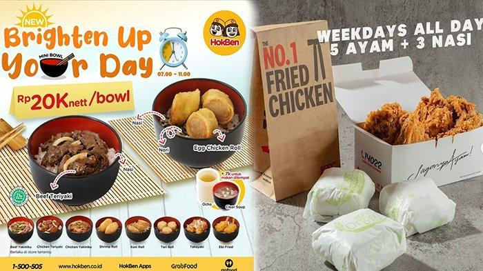 PROMO Makanan Hari Ini Sabtu 10 April 2021, Promo Pizza Hut KFC Jco HokBen Burger King dan A&W