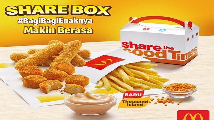 Promo McD Februari 2021 Promo McDonalds Mulai Rp 8.182 Hingga Potongan Rp 30 Ribu