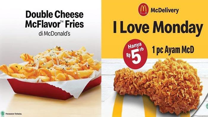 Promo McD Hari Ini 5 Oktober 2021 Terbaru, Beli 1 Ayam McD Hanya Rp 5.000 Banyak Promo Lainnya Loh